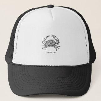 Stone Crab Logo (line art) Trucker Hat