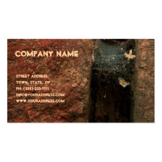 Stone Crack Bricklayer Business Card