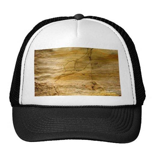 Stone Cracked Mesh Hat