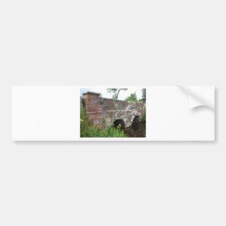 Stone culvert bumper sticker