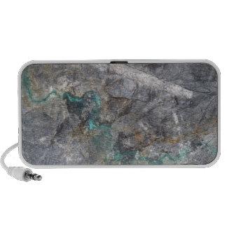 Stone Design with silver ore vein
