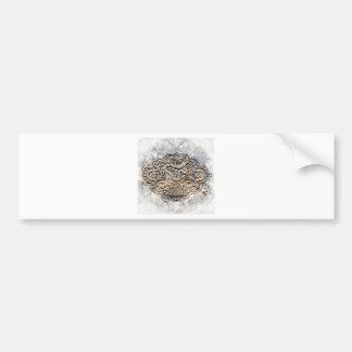 Stone Dragon Bumper Stickers