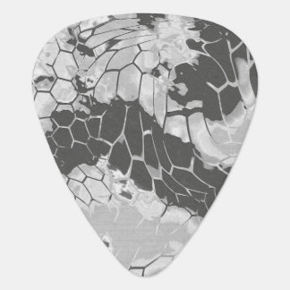 stone dragon camouflage guitar pick