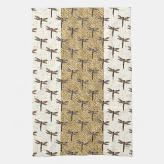 Stone Dragonfly Kitchen Towels