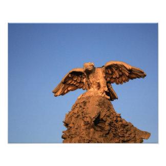 Stone Eagle Art Photo