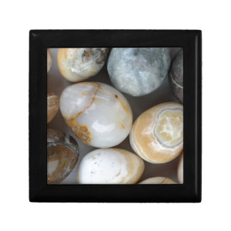 stone eggs small square gift box