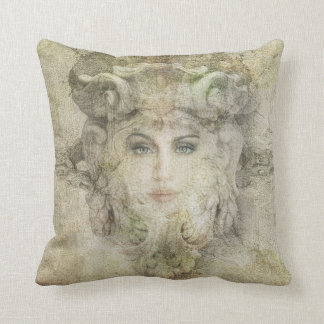 stone face cushion