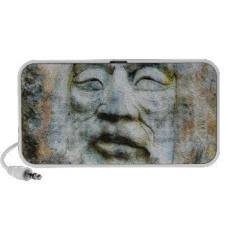 Stone Faced Rock Man Travel Speaker