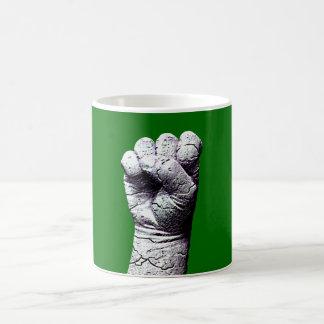 Stone fist coffee mugs