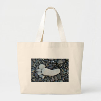 Stone Footprint Jumbo Tote Bag