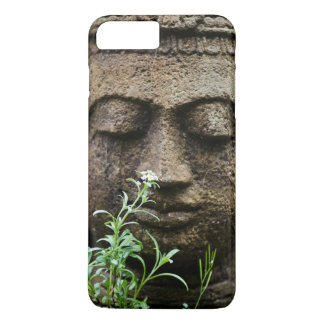 Stone garden statue with flower iPhone 8 plus/7 plus case