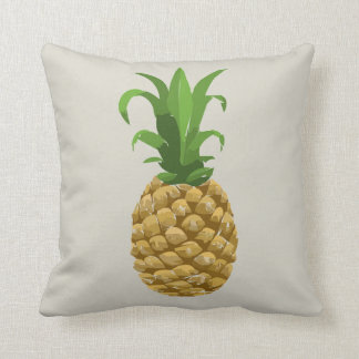 stone grey Pineapple decor pillow