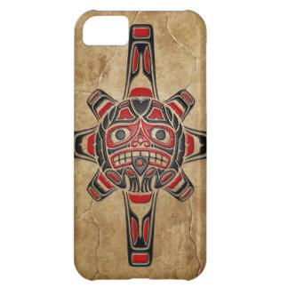 Stone Haida Sun Mask iPhone 5C Cover