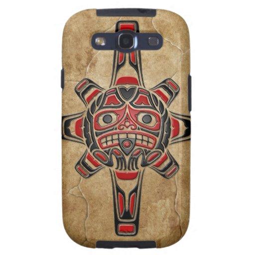Stone Haida Sun Mask Samsung Galaxy S3 Cases