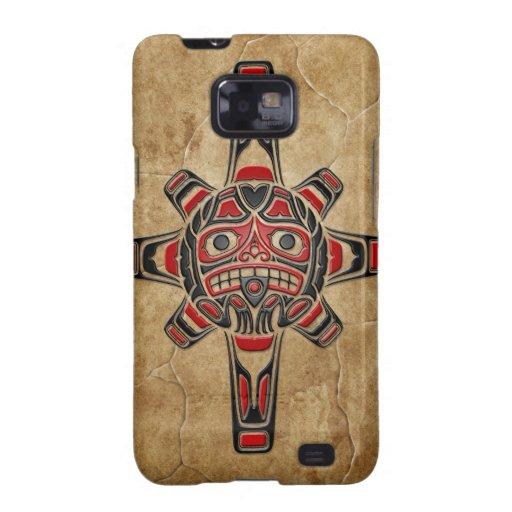 Stone Haida Sun Mask Samsung Galaxy S Cover