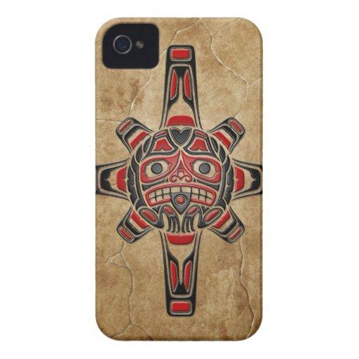 Stone Haida Sun Mask Blackberry Bold Case