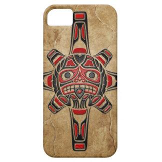 Stone Haida Sun Mask iPhone 5 Case