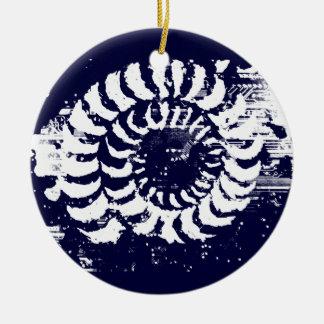 Stone Halo Christmas Ornament