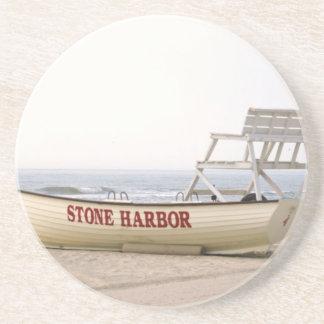 Stone Harbor Lifeguard Boat Coasters