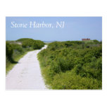 Stone Harbour Point Path Postcard