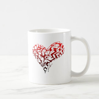 Stone Heart Basic White Mug