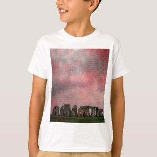 Stone Henge Textural T-Shirt