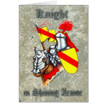 Stone Knight Greeting Cards