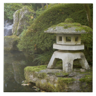 Stone lantern and Heavenly Falls Tile
