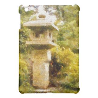 Stone Lantern Garden iPad Mini Cases