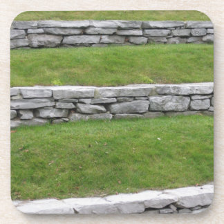 Stone lawn levels coaster
