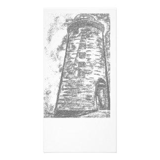 Stone Lighthouse photocard Customized Photo Card