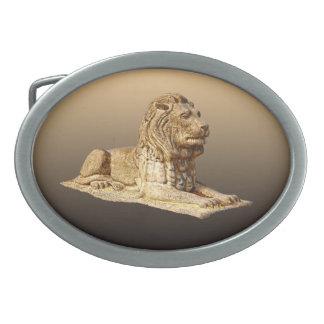 Stone Lion Belt Buckle