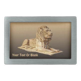 Stone Lion Belt Buckles