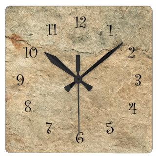 Stone Look Kitchen Wall Clocks