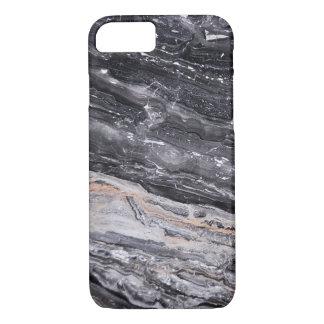 Stone Masculine Black White Grey Marble iPhone 8/7 Case