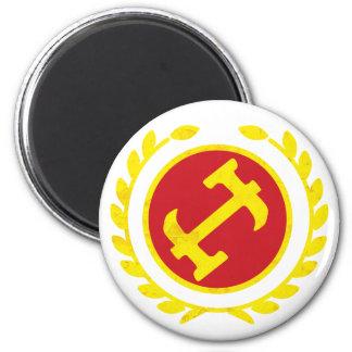 Stone Mason Logo 6 Cm Round Magnet