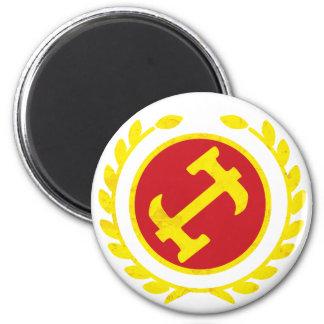 Stone Mason Logo Refrigerator Magnet