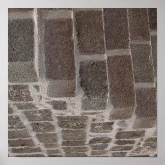 Stone Maze Poster
