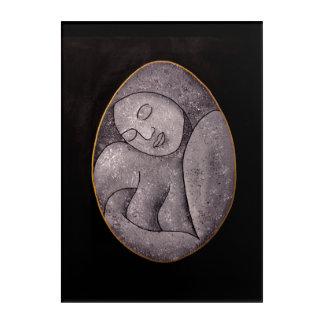 Stone Mother Acrylic Wall Panel Acrylic Print