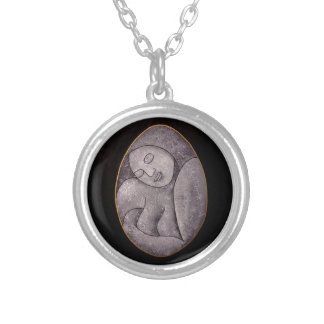Stone Mother Silver Pendant