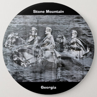 Stone Mountain, Georgia 6 Cm Round Badge