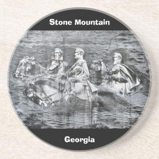 Stone Mountain, Georgia Beverage Coasters