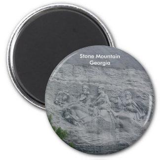 Stone Mountain 6 Cm Round Magnet