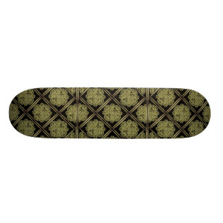 Stone Mystic Symbol Pattern Skate Board