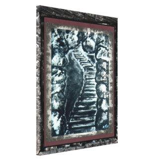 Stone Pathway Canvas Print