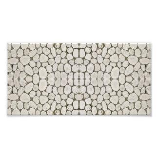 Stone Pattern Wall Texture Art Photo