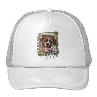 Stone Paws - Boxer - Lucy Trucker Hat