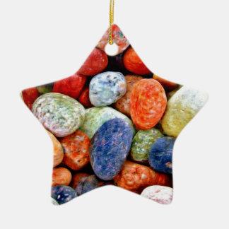 Stone & Pebble Christmas Ornament