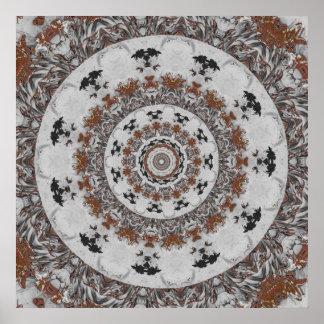 Stone Ridge Kaleidoscope Print