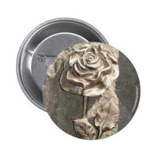 Stone Rose Pin